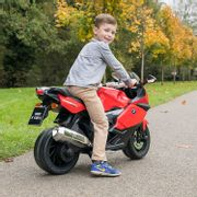 BMW Official Licensed Electric Ride-on Motorbike for Kids with Headlights