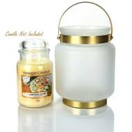 1x Official Yankee Candle Frosty Jar Holder - £6 Delivered at Yankee Bundles