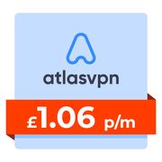 Watch US Netflix! 3 Year AtlasVPN - £1.06p/m on Unlimited Devices!