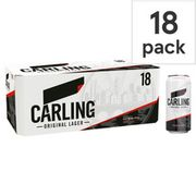 Carling Lager 18 X 440ml