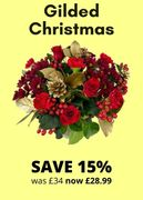 15% off Gilded Christmas Bouquet