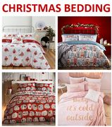 Christmas Bedding / Duvet Cover Sets - from £10 at DUNELM