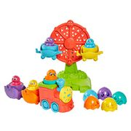 Toomies TOMY Hide and Squeak 2 in 1 Eggventure Train Baby Toy