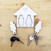 Keychain Key Holder for Wall | Wooden Storage Accessories for Home, Bedroom,