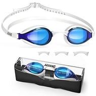 Swimming Goggles, Mirrored Swim Goggles
