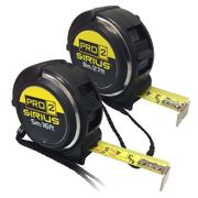 Cheap Sirius 2 Piece Pro 2 Tape Measure Set at Tooled Up