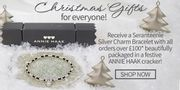 Christmas Gifts, Free Charm Bracelet with Every Order over £100