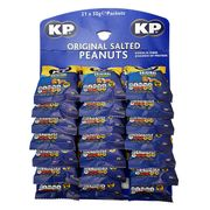 21 X Kp Original Salted Peanuts 50g Packets