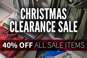 Christmas Clearance Sale | 40% off All Sale Items