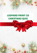 Digital Download 50 Question Christmas Themed Quiz PDF with Answers