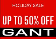 GANT Boxing Day SALE up to 50% OFF Jumpers, Jackets, Sweatshirts, Polos