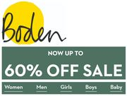 Boden January SALE - Now up to 60% OFF