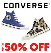 Converse January Sale - Up to 50% off Converse Trainers, Clothes & More