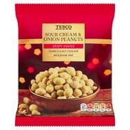 Tesco Sour Cream & Onion Peanuts 200G - 50p at Tesco