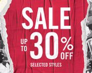 Sale Upto 30% Off