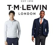 TM Lewin Sale - up to 50% off Shirts, Suits & More