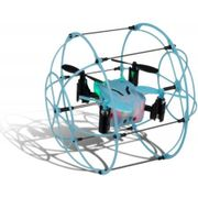 Cage Remote Controlled Drone - Blue / Black