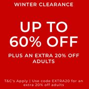 Clarks Outlet Winter Clearance 60% Off