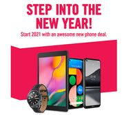 Start 2021 With An Awesome New Phone Deal