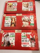 Christmas Cards Cat or Dog Designs