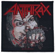 Anthrax Patch - Fistful of Metal