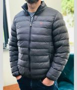 Mens Grey or Navy Lightweight Padded Jacket