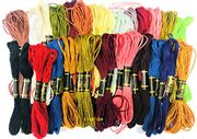 50 Pack Embroidery Threads