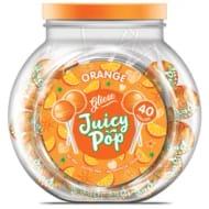 CHEAP! Gliese Juicy Pop Orange Or Mango Lollies *40 X 5g Pack