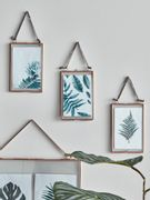 Three Delicate Hanging Frames - Copper