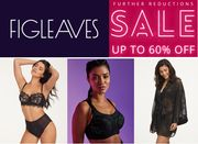 FIGLEAVES SALE - Lingerie, Sports & Nightwear - UP TO 70% OFF + FREE DELIVERY