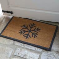 Snowflake Doormat