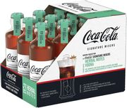 FREE DELIVERY 36 X Coca-Cola Signature Mixers Herbal Only £9.99 at ClearanceXL
