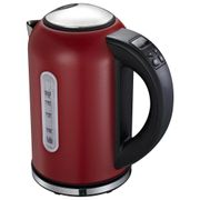 Linsar VT869RED Variable Temperature Jug Kettle in Red - 1.7L 3kW