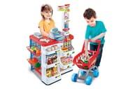 Kids Toy Supermarket & Trolley