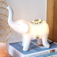 Mandala Elephant LED Night Light