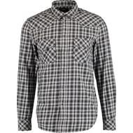 DIESEL Grey Check Long Sleeve Shirt