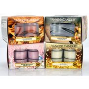 4 X Boxes Yankee Candle Winter Season Tealight Selection (48 Candles)