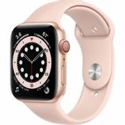Apple Watch Series 6 GPS - 40mm Gold Aluminum Case with Pink Sand Sport Band