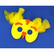 SALE - Easter Chick Mask Making Craft Kit for 6 Kids