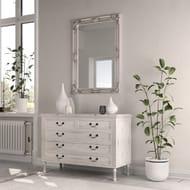 Mulan Silver Wooden Mirror