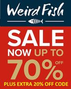 Weird Fish SALE - up to 70% off + EXTRA 20% off + FREE DELIVERY