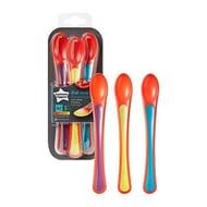 Tommee Tippee Heat Sensing Spoons, 4 Months, Pack of 3