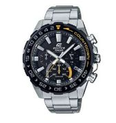 Casio Edifice Countdown Men's Stainless Steel Bracelet Watch - Only £84.15!