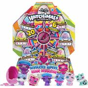 HATCHIMALS CollEGGtibles Cat Crazy Mystery Wheel with 20 Surprises to Open!