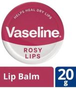 Vaseline Rosy Lip Tin 20g Buy One Get One Half Price