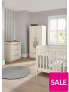 *SAVE £500* Mamas & Papas Heaton Cot Bed, Changer & Wardrobe