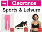 VERY SPORTS CLEARANCE - up to 70% off Nike, Adidas & More