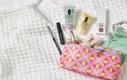Receive an Exclusive 7-Piece Clinique Beauty Bag with 2 Purchases