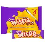Cadbury Wispa Gold 4 Pack