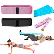 DEAL STACK - Fabric Resistance Hip Exercise Bands + 30% Coupon
